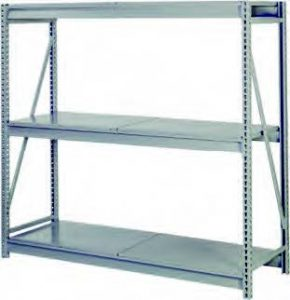 Bulk Storage Rack with Solid Decking