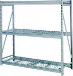 Bulk Storage Rack with Wire Deck
