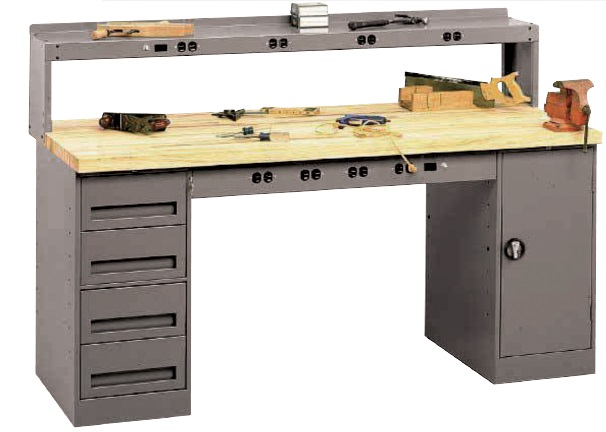 Tremendous Industrial Workstations Benches Smith Material Handling Onthecornerstone Fun Painted Chair Ideas Images Onthecornerstoneorg