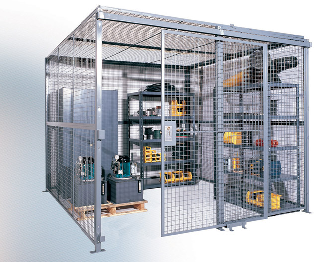 Wire Mesh Partitions Amp Cages Security Cages Smith