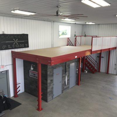 Mezzanine Platform in Hangar